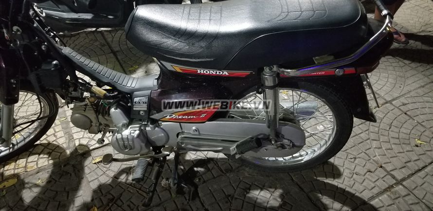 Can ban HONDA Dream II 2006 mau den nau o Ha Noi gia 14tr MSP #1027522