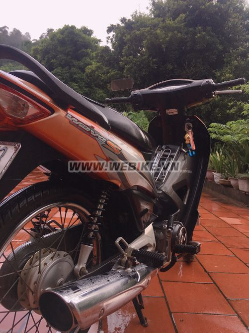 Can ban HONDA WaveS 100 2008 mau do bac o Bac Giang gia 12tr MSP #1028520