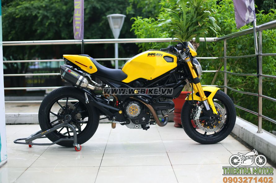 Ducati Monster 796 2015 do choi chi chit o TPHCM gia 168tr MSP #1709171