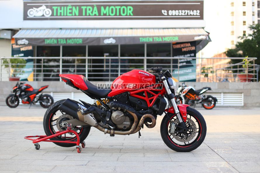 Can ban DUCATI Monster 821 con moi long lanh, bien so thanh pho o TPHCM gia 230tr MSP #1152710